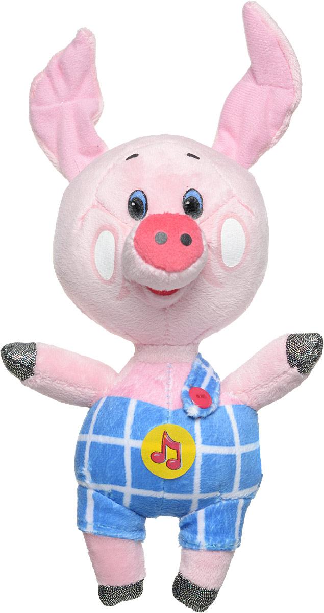 Мульти-Пульти Мягкая игрушка Поросенок Пятачок 22 см мягкие игрушки мульти пульти мягкая игрушка маша 29 см