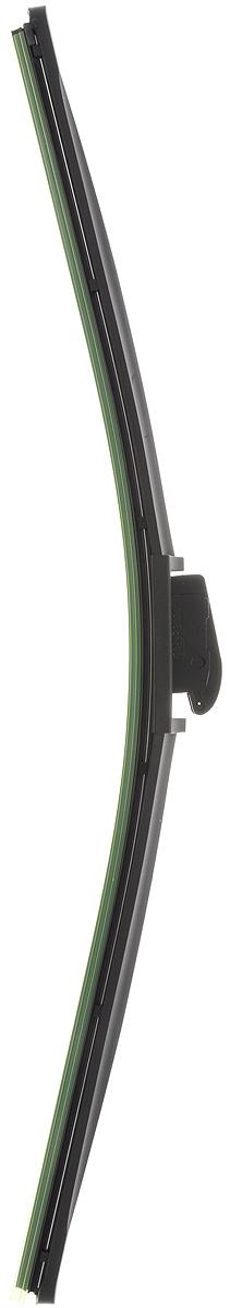 Щетка стеклоочистителя Wonderful, бескаркасная, с тефлоном, с 10 адаптерами, длина 52,5 см, 1 шт901925Бескаркасная универсальная щетка Wonderful, выполненная по современной технологии из высококачественных материалов, предназначена для установки на переднее стекло автомобиля. Направляющая шина, расположенная внутри чистящего полотна, равномерно распределяет прижимное усилие по всей длине, точно повторяя рельеф щетки, что обеспечивает наиболее полное очищение стекла за один проход. Отличается высоким качеством исполнения и оптимально подходит для замены оригинальных щеток, установленных на конвейере. Обеспечивает качественную очистку стекла в любую погоду. Изделие оснащено 10 адаптерами, которые превосходно подходят для наиболее распространенных типов креплений. Простой и быстрый монтаж.