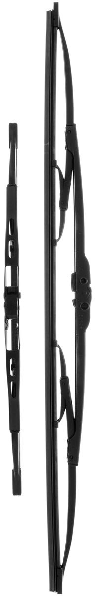 Щетка стеклоочистителя Bosch 553, каркасная, длина 55/34 см, 2 шт3397010274Комплект Bosch 553 состоит из двух щеток разной длины, выполненных по современной технологии из высококачественных материалов. Они обеспечивают идеальную очистку стекла в любую погоду.TWIN - серия классических каркасных щеток от компании Bosch. Эти щетки имеют полностью металлический каркас с двойной защитой от коррозии и сверхточный профиль резинового элемента с двумя чистящими кромками.Комплектация: 2 шт.