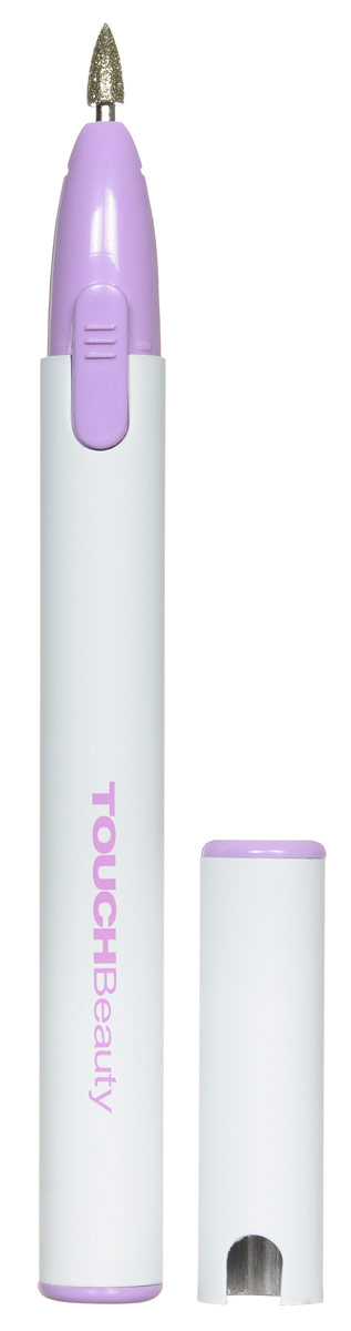 "Touchbeauty Маникюрный набор 3в1 ""Micro Nail Polisher"", цвет: белый, сиреневый. AS-0676"