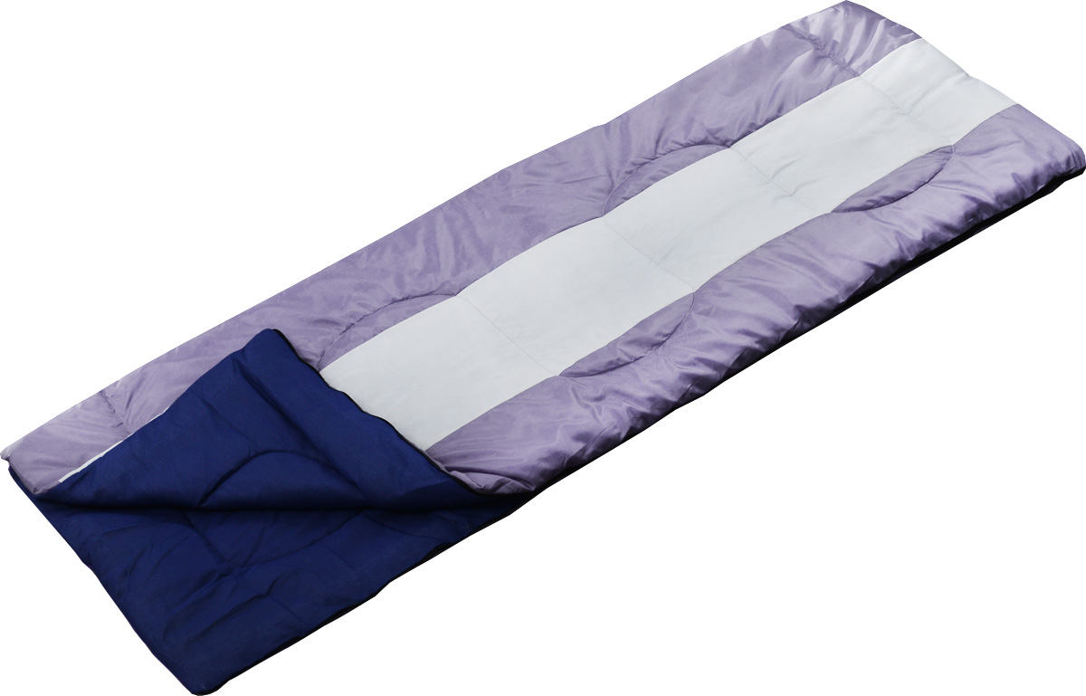 Спальный мешок Чайка Navy 150, правосторонняя молния, цвет: сиреневыйNAV150_сиреневыйСпальный мешок Чайка Navy 150 предназначен для летнего сезона в туризме и активного отдыха на природе. Разъемные молнии позволяют объединить два спальных мешка в один двойной. Можно расстегнуть молнию и использовать спальник как обыкновенное одеяло. Синтетический утеплитель нового поколения термофайбер обладает повышенными теплоизолирующими свойствами. Он легкий, мягкий, особо теплый, хорошо пропускает воздух, не впитывает влагу. Комплектуется компактным чехлом.Что взять с собой в поход?. Статья OZON Гид