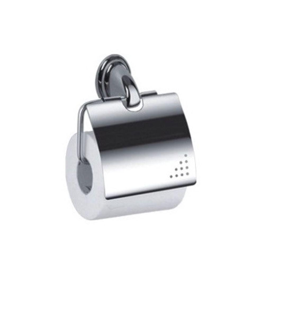 Держатель для туалетной бумаги Vanstore Овал, с крышкой, 12 х 11 х 5 см держатель для туалетной бумаги wonder worker hold цвет серый металлик 15 5 x 13 5 x 5 4 см