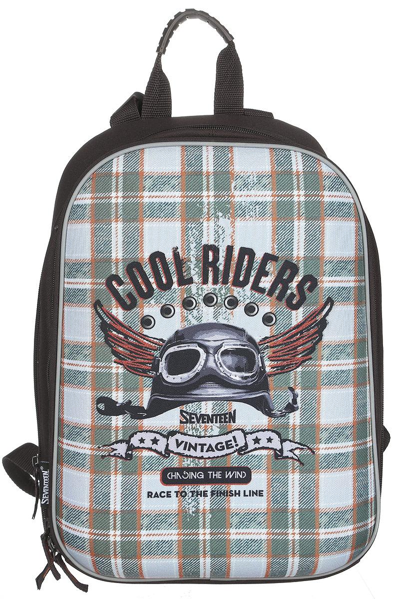 Seventeen Ранец школьный Cool Riders