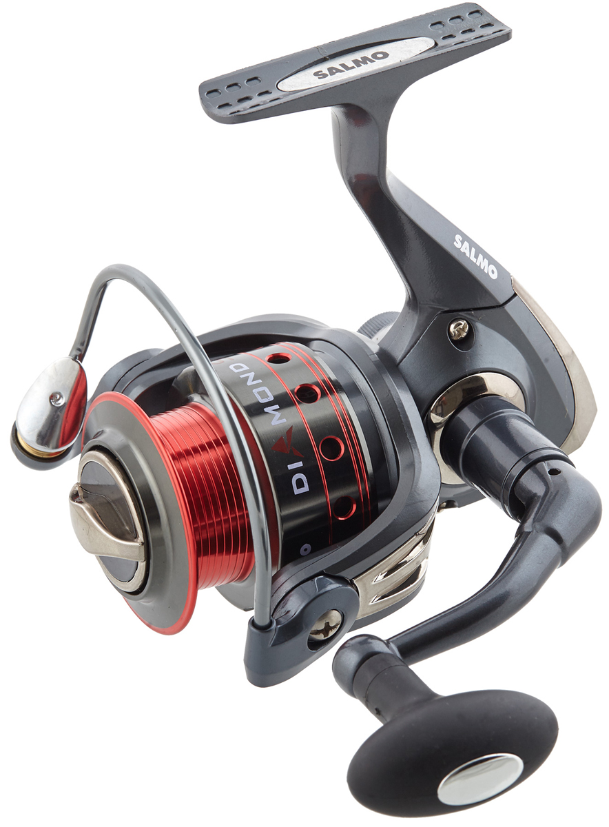 Катушка безынерционная Salmo Diamond SPIN 6 20FD salmo diamond spin 6 20rd