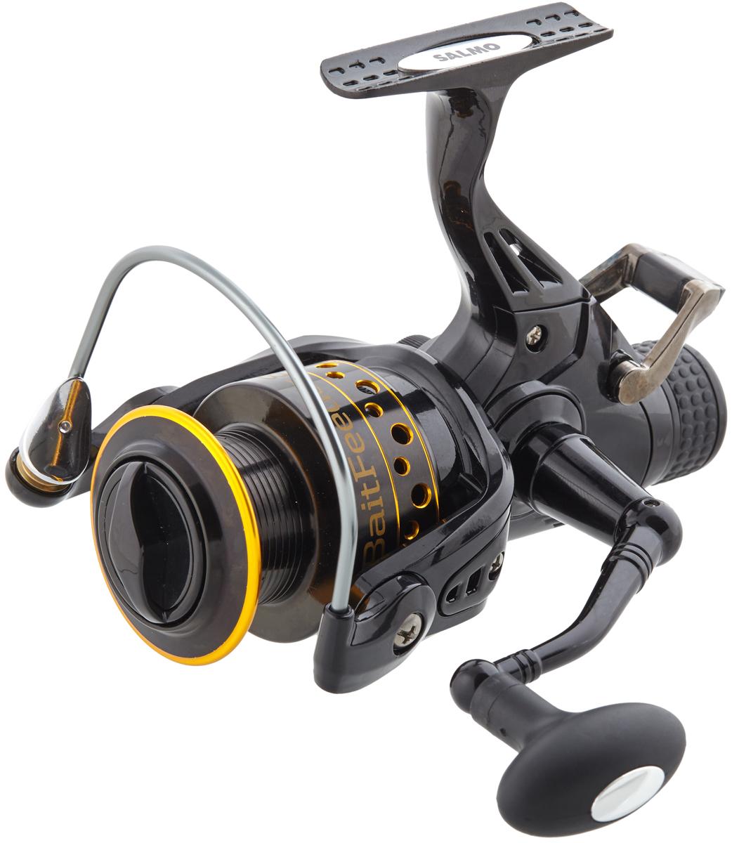 Катушка безынерционная Salmo Elite Baitfeeder 8 40BR, цвет: черный катушка для рыбалки salmo sniper baitfeeder 1 6000br