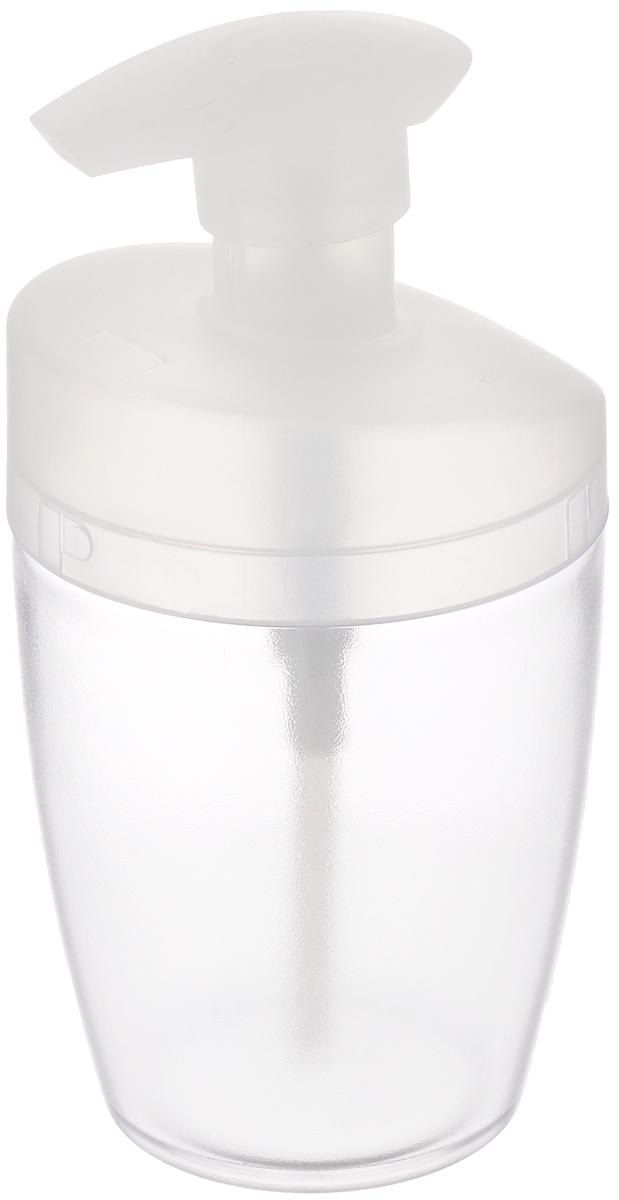 Дозатор для моющего средства Tescoma Clean Kit, цвет: прозрачный, белый, 400 мл900610_белыйДозатор Tescoma Clean Kit, выполненный из прочногопластика, прекрасно подходит для удобной дозировки ихранения моющих средств на кухонном гарнитуре, рядомс мойкой.Подходит для мытья в посудомоечной машине. Высота дозатора (с учетом крышки): 16 см. Диаметр основания дозатора: 6 см.