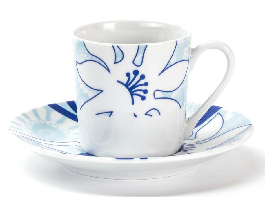 Набор кофейных пар La Rose Des Sables Bleu Sky, 12 предметов539012 2230Фарфор производится в Тунисе из знаменитой своим качеством и белизной глины, добываемой во французской провинции Лимож. Преимущества этого фарфора заключаются в устойчивости к сколам и трещинам, что возможно благодаря двойному термическому обжигу. Данную серию можно использовать в СВЧ и посудомоечной машине. Данная посуда рассчитана на интенсивное использование. Лиможский фарфор не содержит включений тяжелых металлов, что соответствует мировым и российским санитарным требованиям.