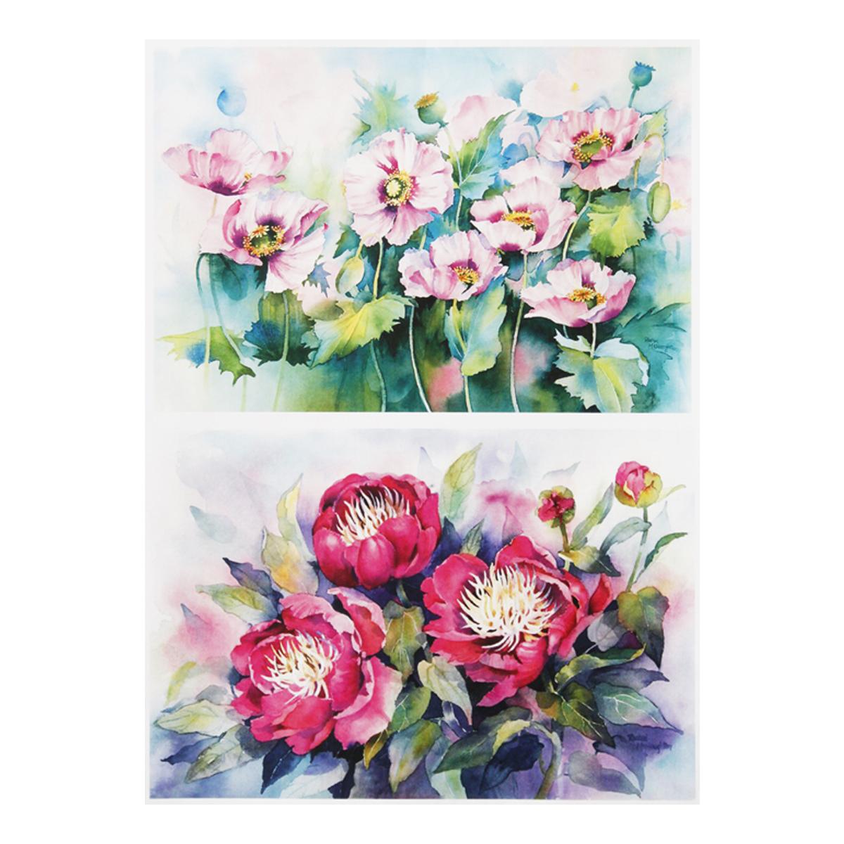 Декупажная карта Freedecor Розовые цветы, А3, 80 гр./м.кв. Dk 182680073_182розовыецветыДекупажные карты Фридекор отличаются оригинальными, стильными дизайнами и прекрасным качеством. Печать декупажных карт происходит на бумаге плотностью 80 гр/м2.