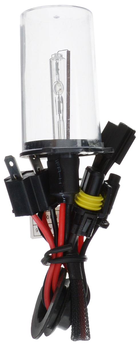 Лампа автомобильная ксеноновая Nord YADA, H4 моно, 4300K10503Лампа автомобильная ксеноновая Nord YADA - это электрическая ксеноновая газозарядная лампа для автомобилей и других моторных транспортных средств.Ксеноновая лампа - это источник света, представляющий собой устройство, состоящее из колбы с газом (ксеноном), в котором светится электрическая дуга, которая возникает вследствие подачи напряжения на электроды лампы.Лампа предназначена для ближнего света. Дает яркий белый свет, близкий по спектру к дневному. Высокая яркость обеспечивает хорошее освещение дороги и безопасность. Свет лампы насыщенный и интенсивный, поэтому она идеально подходит для освещения дороги во время тумана.Преимущества по сравнению с галогенной лампой:- Безопасность - лучше освещает дорогу, помогает быстрее среагировать на дорожную обстановку;- Экономичность - потребляет меньше, а светит ярче;- Увеличенный срок службы - не имеет нити накаливания, поэтому долговечна и не боится тряски.