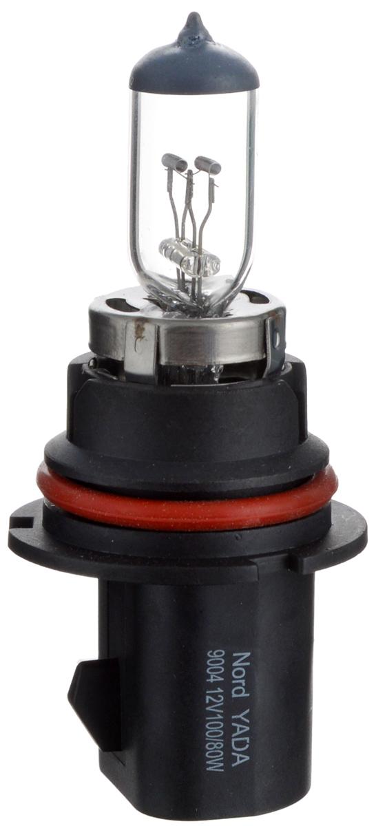 Лампа автомобильная галогенная Nord YADA Clear, цоколь HB1 (9004), 12V, 100/80W800079Лампа автомобильная галогенная Nord YADA Clear - это электрическая галогенная лампа с вольфрамовой нитью для автомобилей и других моторных транспортных средств. Виброустойчива, надежна, имеет долгий срок службы. Галогенные лампы предназначены для использования в фарах ближнего, дальнего и противотуманного света. Серия Clear обеспечивает водителю классический оттенок светового пятна на дороге, к которому привыкло большинство водителей.