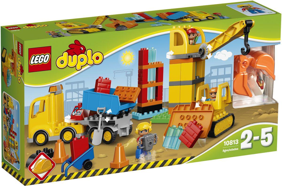LEGO DUPLO Конструктор Большая стройплощадка 10813 - Игрушки для малышей