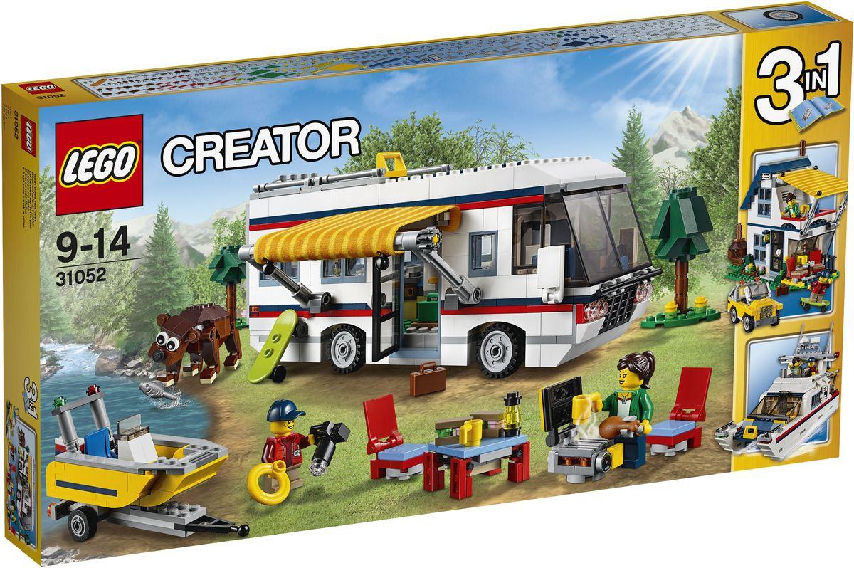 LEGO Creator Конструктор Кемпинг 31052 купить алюмакрафт бу моторную лодку