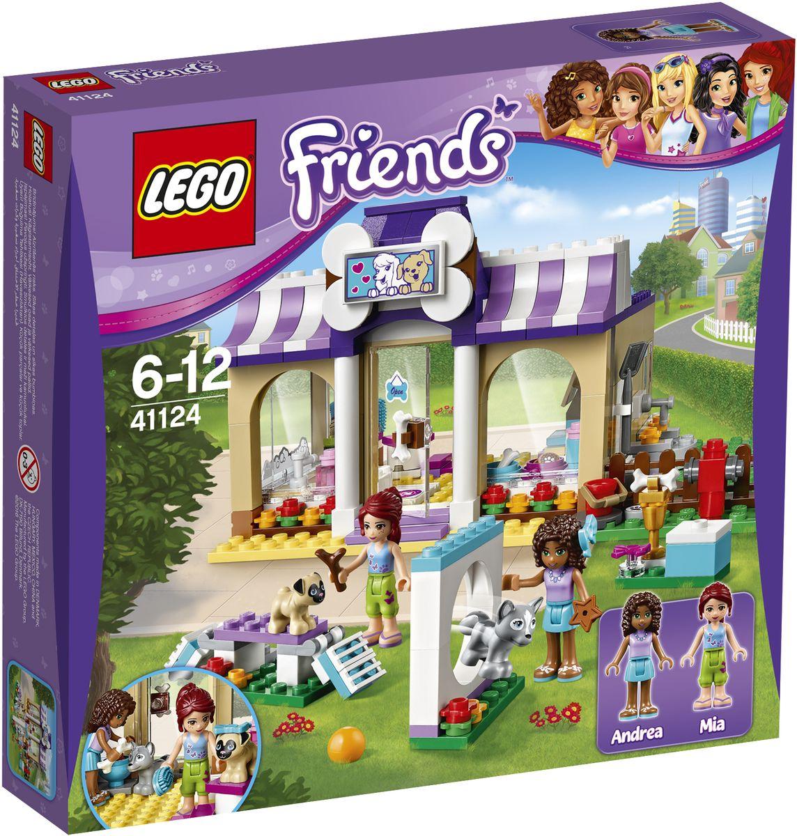 LEGO Friends Конструктор Детский сад для щенков 41124 lego friends выставка щенков игровая площадка