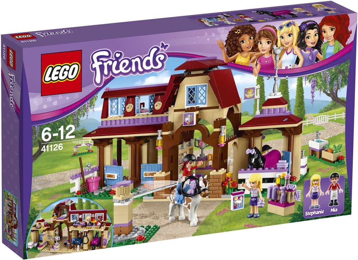 конструктор lego friends 41100 частный самолет LEGO Friends Конструктор Клуб верховой езды 41126
