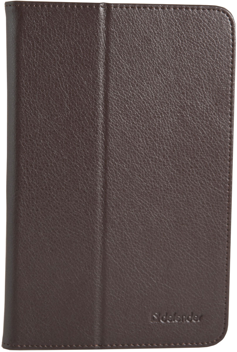 Defender Leathery case 7, Brown чехол для планшета protective pu plastic case w stand for 7 asus fe7010cg brown