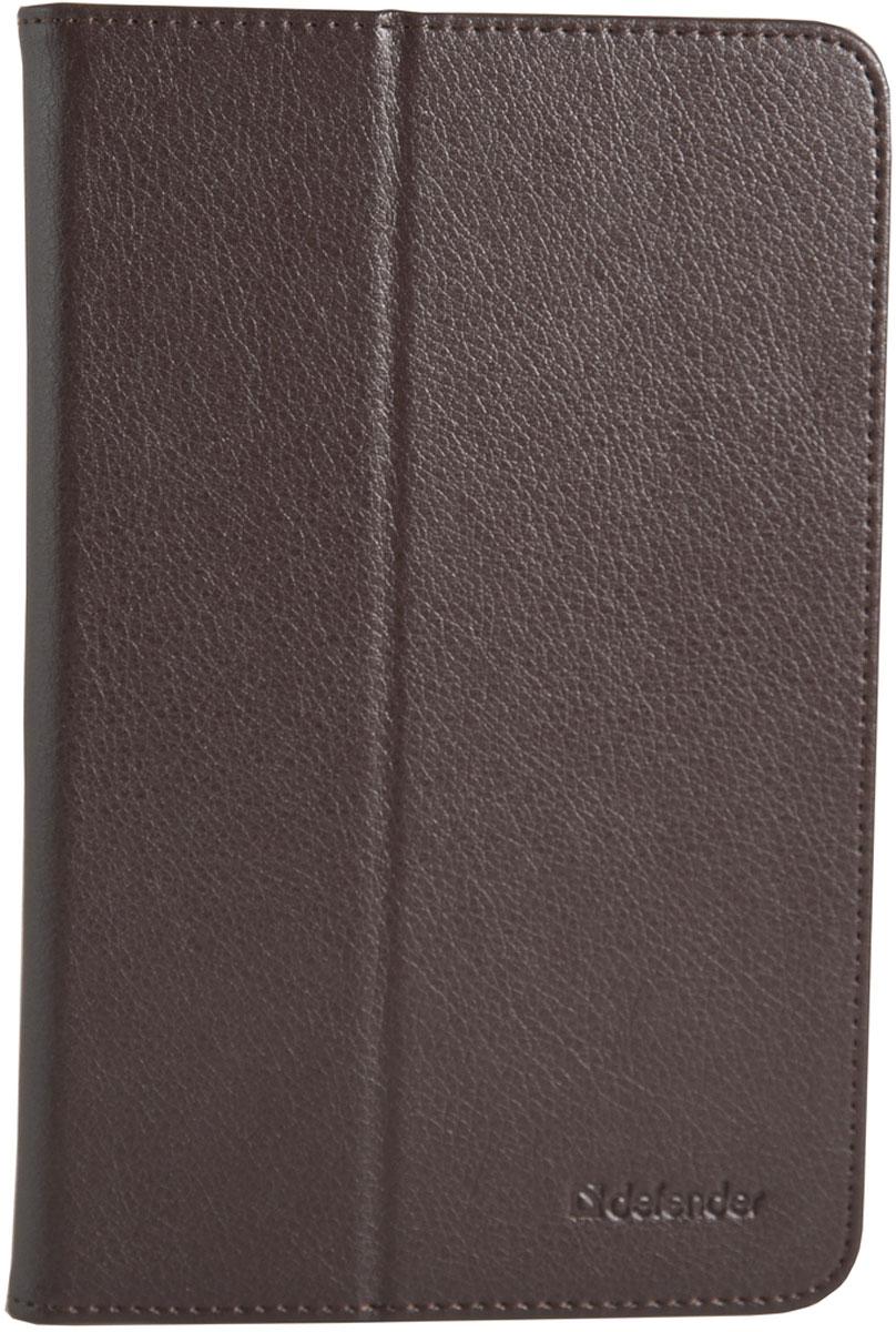 Defender Leathery case 10.1, Brown чехол для планшета defender velvet uni 7 brown чехол для планшета