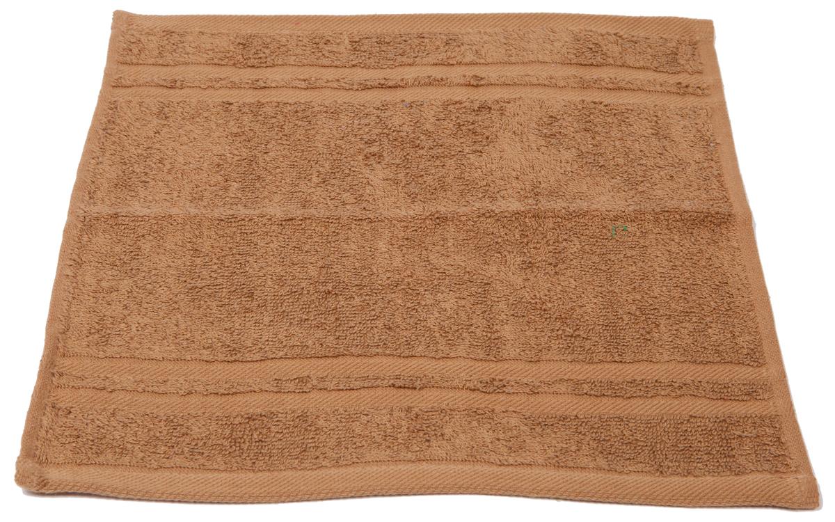 Полотенце махровое Arloni Marvel, цвет: кофейный, 33 х 33 см. 4403344033Полотенце Arloni Marvel, выполненное из натурального хлопка, подарит вам мягкость и необыкновенный комфорт в использовании. Ткань не вызывает аллергических реакций, обладает высокой гигроскопичностью и воздухопроницаемостью. Полотенце великолепно впитывает влагу, нежное на ощупь не теряет своих свойств после многократной стирки.