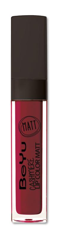 BeYu Помада для губ матовая стойкая Cashmere Lip Color Matt 25 6,5 мл3342.25Стойкая жидкая помада с матовым эффектом и нежной текстурой. Идеально держится на губах весь день, не растекается и не скатывается. Модное матовое покрытие ставит яркий акцент на улыбке, насыщенные оттенки помады усиливает эффект. Макияж губ выглядит выразительно и чувственно. Помада легко наносится благодаряю удобному закругленному аппликатору.Какая губная помада лучше. Статья OZON Гид