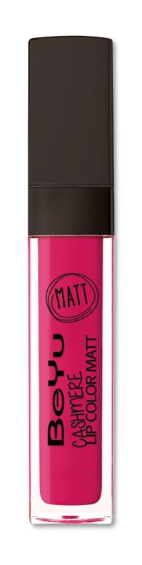 BeYu Помада для губ матовая стойкая Cashmere Lip Color Matt 48 6,5 мл3342.48Стойкая жидкая помада с матовым эффектом и нежной текстурой. Идеально держится на губах весь день, не растекается и не скатывается. Модное матовое покрытие ставит яркий акцент на улыбке, насыщенные оттенки помады усиливает эффект. Макияж губ выглядит выразительно и чувственно. Помада легко наносится благодаряю удобному закругленному аппликатору.Какая губная помада лучше. Статья OZON Гид
