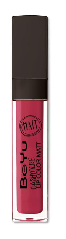 BeYu Помада для губ матовая стойкая Cashmere Lip Color Matt 92 6,5 мл3342.92Стойкая жидкая помада с матовым эффектом и нежной текстурой. Идеально держится на губах весь день, не растекается и не скатывается. Модное матовое покрытие ставит яркий акцент на улыбке, насыщенные оттенки помады усиливает эффект. Макияж губ выглядит выразительно и чувственно. Помада легко наносится благодаряю удобному закругленному аппликатору.