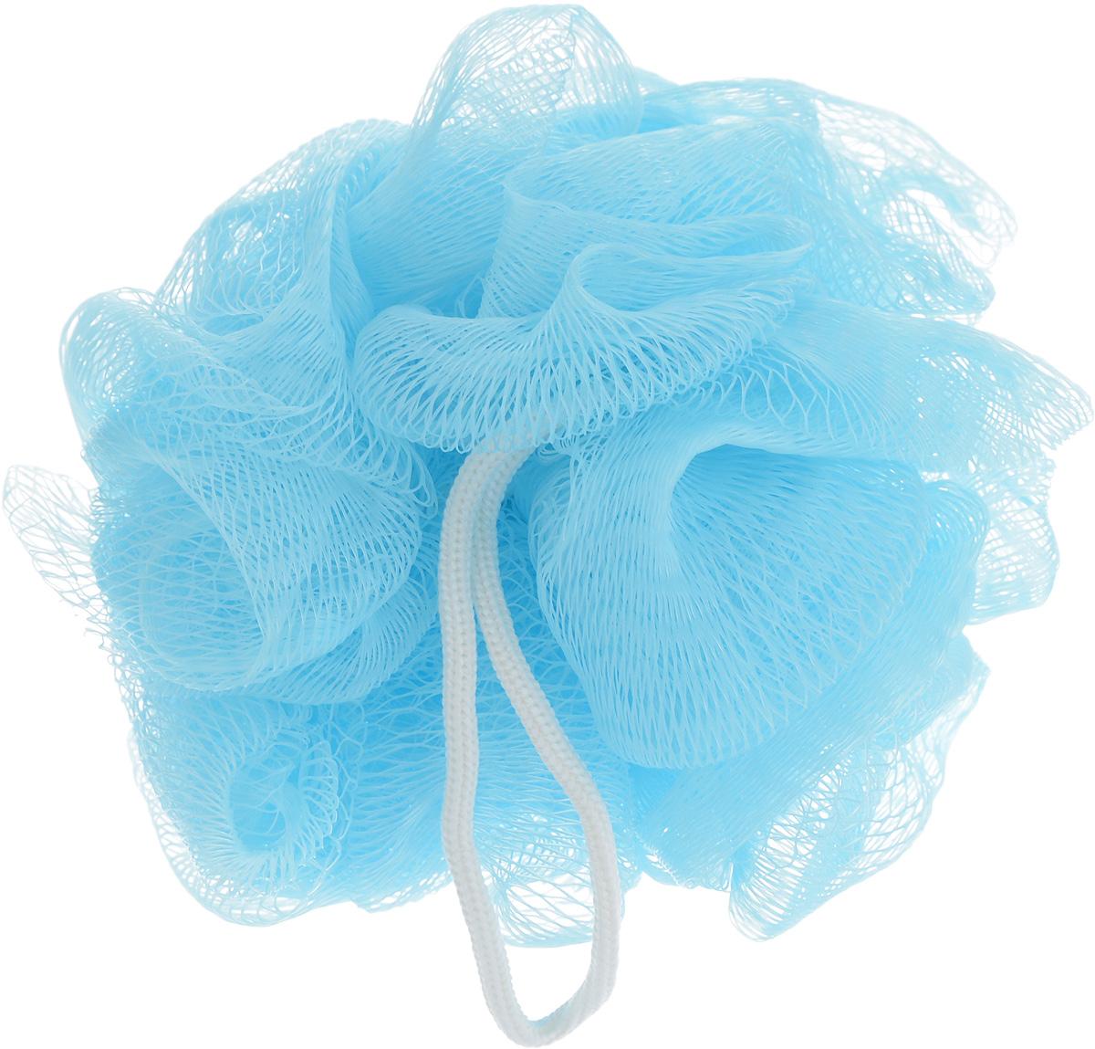 Мочалка The Body Time, цвет: голубой501Мочалка The Body Time, выполненная из нейлона,предназначена для мягкого очищения кожи. Она станетнезаменимым аксессуаром ванной комнаты. Мочалкаотлично пенится, обладает легким массажнымвоздействием, идеально подходит для нежной ичувствительной кожи.На мочалке имеется удобная петля для подвешивания. Диаметр: 10 см.