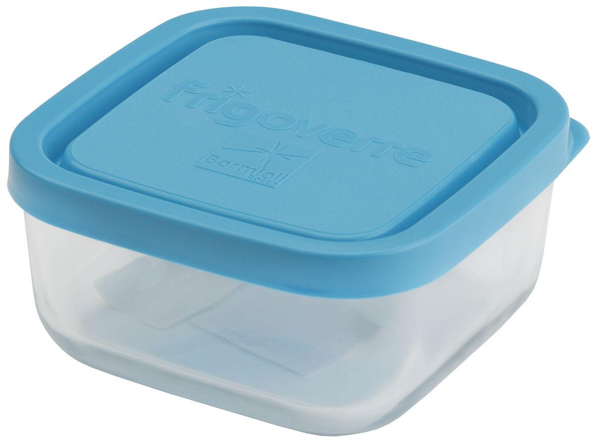 Контейнер Bormioli Rocco Frigoverre, квадратный, цвет крышки: синий, 240 млB335190-1Стеклянный герметичный контейнер Bormioli Rocco Frigoverre для хранения пищи с синей крышкой. Из холодильника сразу в микроволновую печь! Выдерживают температурный удар от - 20С до +70С. Безопасны для хранения готовых продуктов. Не содержат Бисфенол А. BPA Free. Закаленное стекло. В 5 раз повышена ударостойкость. Устойчивы к царапинам и сколам. Удобство использования. Изделия легко моются. Можно использовать в посудомоечной машине. Настоящее итальянское качество!