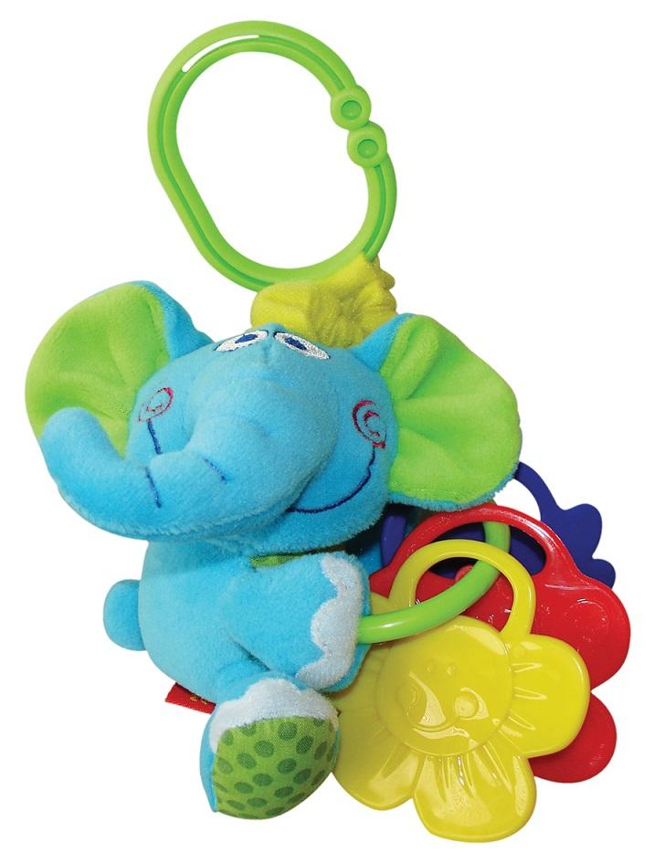 Мини-подвеска Слоненок вибрирующая игрушка мир детства слоненок