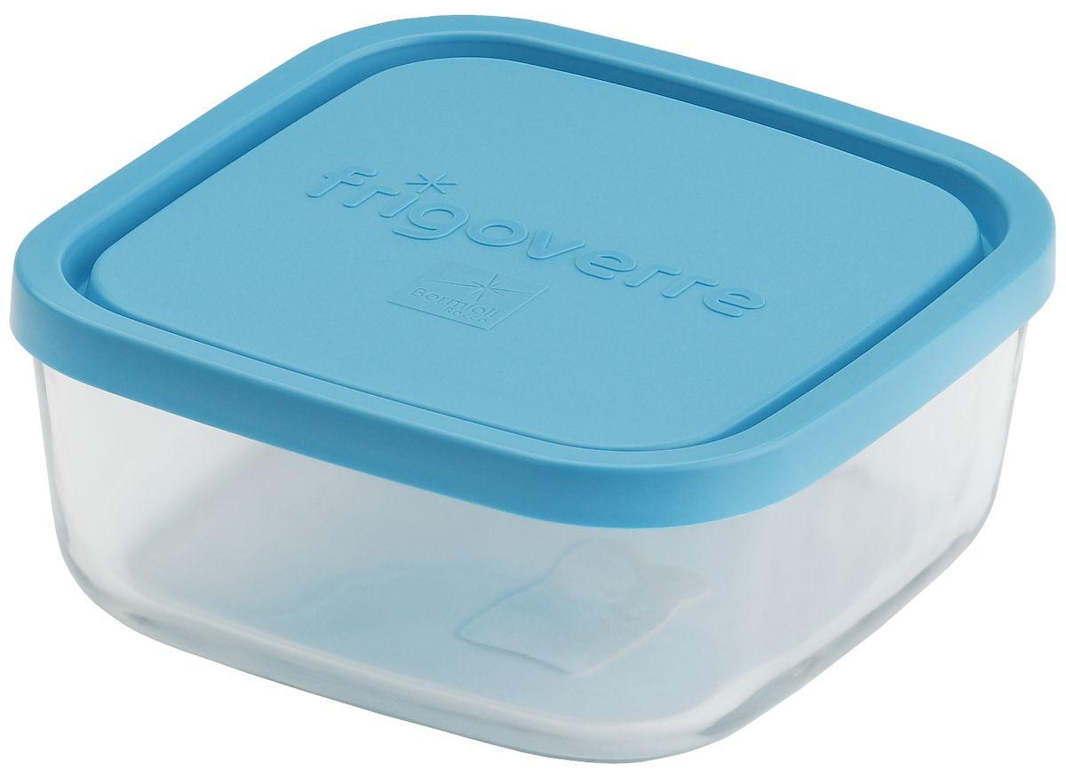 Контейнер Bormioli Rocco Frigoverre, квадратный, цвет: синий, 1,6 лB388820-1Стеклянный герметичный контейнер с крышкой Bormioli Rocco Frigoverre для хранения пищи. Из холодильника сразу в микроволновую печь! Выдерживает температурный удар от - 20С до +70С. Безопасен для хранения готовых продуктов. Не содержит Бисфенол А. BPA Free. Закаленное стекло. В 5 раз повышена ударостойкость. Устойчив к царапинам и сколам. Удобство использования. Изделие легко моется. Можно использовать в посудомоечной машине. Настоящее итальянское качество!