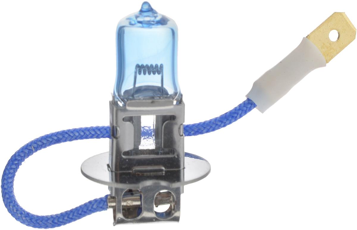 Лампа автомобильная галогенная Nord YADA Super White, цоколь H3, 24V, 70W800073Лампа автомобильная галогенная Nord YADA Super White - это электрическая галогенная лампа с вольфрамовой нитью для автомобилей и других моторных транспортных средств.Галогенные лампы предназначены для использования в фарах ближнего, дальнего света. Лампа имеет голубое напыление на колбе, что дает более белый лунный свет. Данная характеристика помогает лучше освещать дорогу для водителей и делает автомобиль более заметным на трассах.