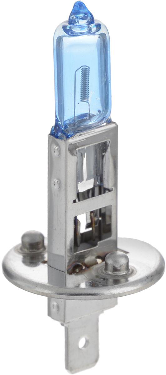 Лампа автомобильная галогенная Nord YADA Super White, цоколь H1, 12V, 100W800050Лампа автомобильная галогенная Nord YADA Super White - это электрическая галогенная лампа с вольфрамовой нитью для автомобилей и других моторных транспортных средств. Виброустойчива, надежна, имеет долгий срок службы. Галогенные лампы предназначены для использования в фарах ближнего и дальнего света. Лампа имеет голубое напыление на колбе, что дает более белый лунный свет. Данная характеристика помогает лучше освещать дорогу для водителей и делает автомобиль более заметным на трассах.