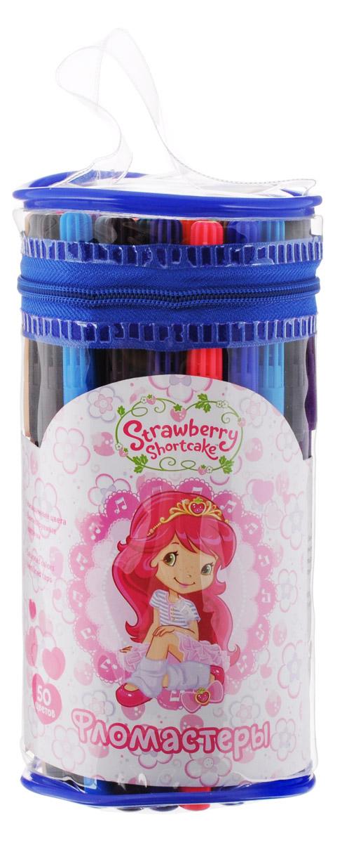 Action! Набор фломастеров Strawberry Shortcake 50 цветовSW-AWP105-50Набор цветных фломастеров Strawberry Shortcake от бренда Action! идеально подойдет для творческих начинаний вашего ребенка. Чернила фломастеров изготовлены на водной основе, а цветные вентилируемые колпачки не дадут долгое время засохнуть им. Цветные фломастеры Action! Strawberry Shortcake будут способствовать развитию фантазии и самовыражения вашего юного художника. Набор состоит из 50 фломастеров самых разных цветов. Рекомендуемый возраст от 3-х лет.