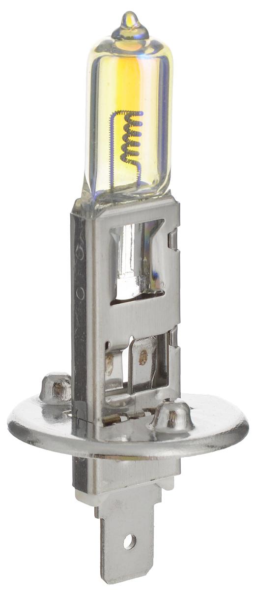 Лампа автомобильная галогенная Nord YADA Rainbow, всепогодная, цоколь H1, 24V, 70W10503Лампа автомобильная галогенная Nord YADA Rainbow - этоэлектрическая галогенная лампа с вольфрамовой нитью дляавтомобилей и других моторных транспортных средств.Виброустойчива, надежна, имеет долгий срок службы.Галогенные лампы предназначены для использования в фарахближнего, дальнего и противотуманного света.Колба с радужным нанесением (мыльный пузырь)обеспечивает водителям комфортное освещение и управлениена дороге в любую погоду.