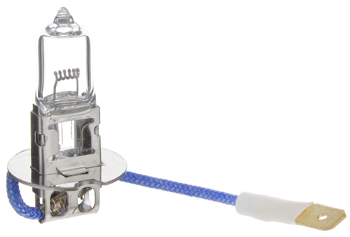 Лампа автомобильная галогенная Nord YADA Clear, цоколь H3, 24V, 100W800060Лампа автомобильная галогенная Nord YADA Clear - это электрическая галогенная лампа с вольфрамовой нитью для автомобилей и других моторных транспортных средств. Виброустойчива, надежна, имеет долгий срок службы. Галогенные лампы предназначены для использования в фарах ближнего, дальнего и противотуманного света. Серия Clear обеспечивает водителю классический оттенок светового пятна на дороге, к которому привыкло большинство водителей.
