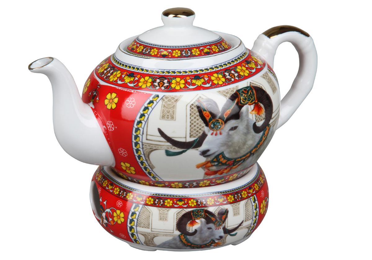 Чайник с подогревом Rosenberg. 806377.858@23664чайник с подогревом, керамика, 1л