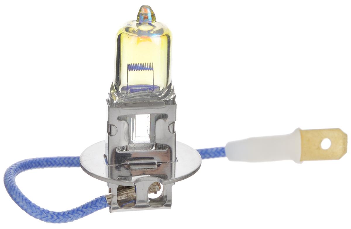 Лампа автомобильная галогенная Nord YADA Rainbow, всепогодная, цоколь H3, 12V, 100W902489Лампа автомобильная галогенная Nord YADA Rainbow - это электрическая галогенная лампа с вольфрамовой нитью для автомобилей и других моторных транспортных средств. Виброустойчива, надежна, имеет долгий срок службы. Галогенные лампы предназначены для использования в фарах ближнего, дальнего и противотуманного света. Колба с радужным нанесением (мыльный пузырь) обеспечивает водителям комфортное освещение и управление на дороге в любую погоду.