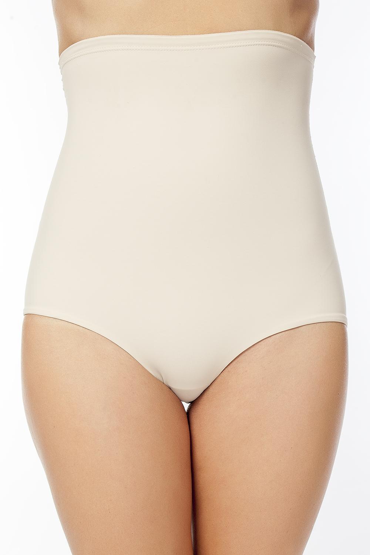 Купить Трусы-макси женские Vis-A-Vis, корректирующие, цвет: бежевый. DU1019. Размер L (48)