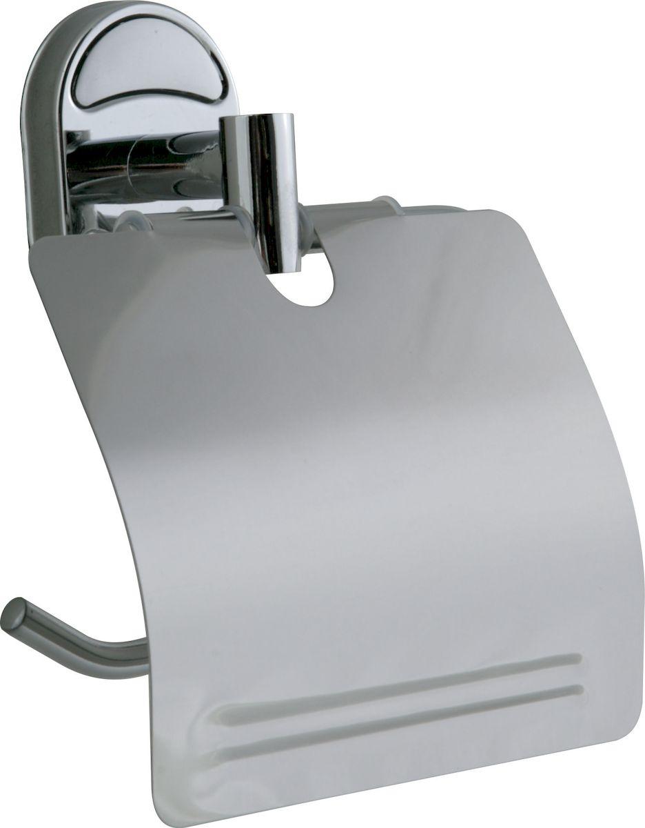 """Держатель """"РМС"""" выполнен из высококачественной стали. Предназначен для удерживания туалетной бумаги. Он крепится к стене с помощью шурупов (входят в комплект). Держатель оснащен крышкой."""