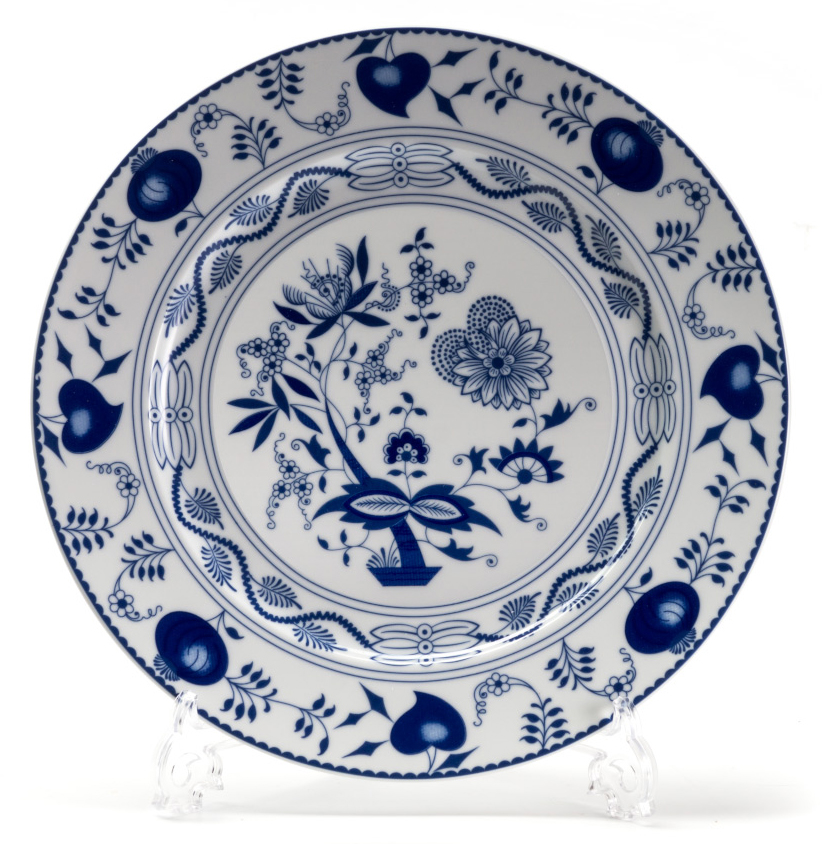Тарелка La Rose des Sables Ognion Bleu, диаметр 27 см blugirl blumarine beachwear слитный купальник