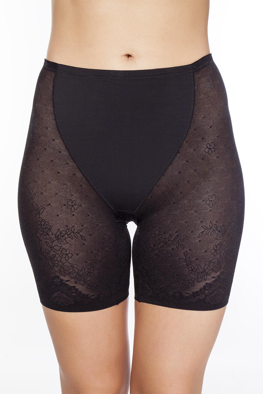 Трусы-панталоны женские Vis-A-Vis, цвет: черный. LHPU1028. Размер XXL (52)  - купить со скидкой