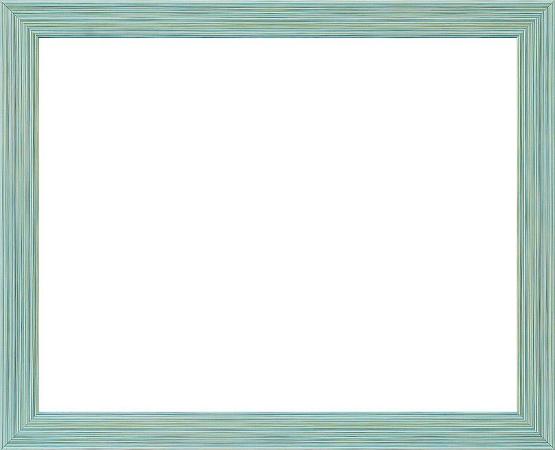 Рама багетная Белоснежка Emma, цвет: голубой, 40 х 50 см рама багетная белоснежка regina цвет черный серебряный 40 х 50 см