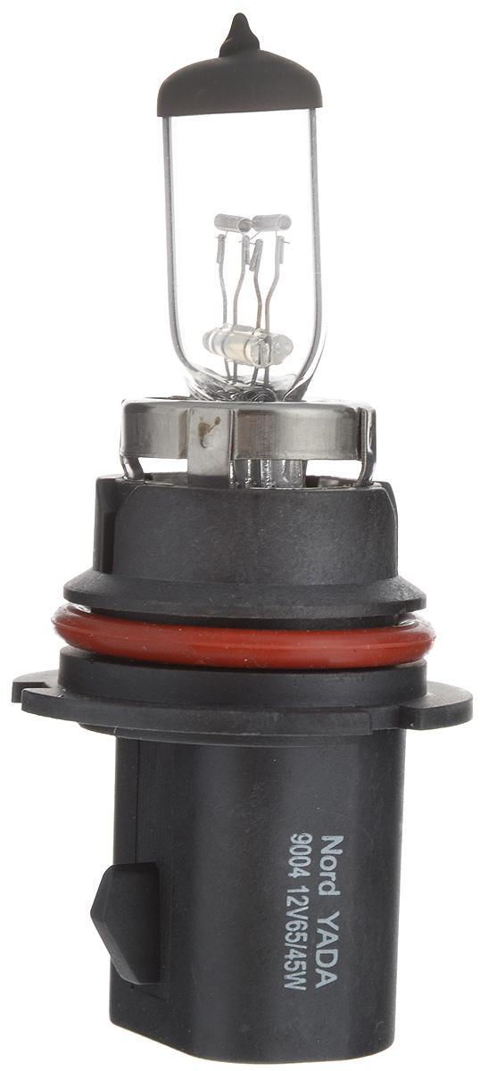 Лампа автомобильная галогенная Nord YADA Clear, цоколь HB1 (9004), 12V, 65/45W лампа автомобильная галогенная nord yada clear цоколь h3 12v 55w 800004
