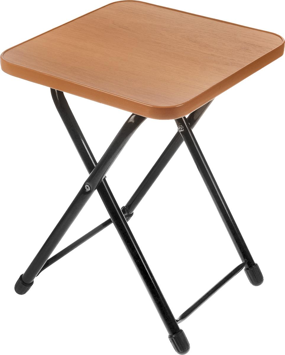 Стул складной Wildman, 30 х 30 х 40 см81-461Практичный и функциональный складной стул Wildman идеально подойдет не только для использования дома и на даче, но также пригодится при выезде на пикник. Каркас выполнен из высококачественного металла, а сиденье из ЛДСП. Размер сиденья: 30 х 30 см.