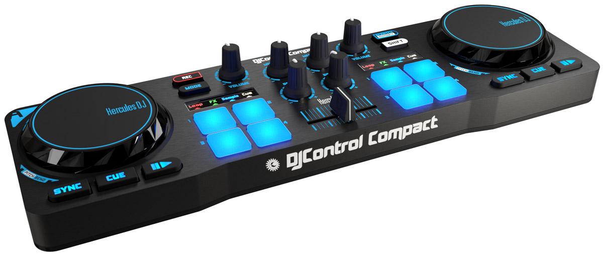 Hercules DJControl Compact DJ-контроллер