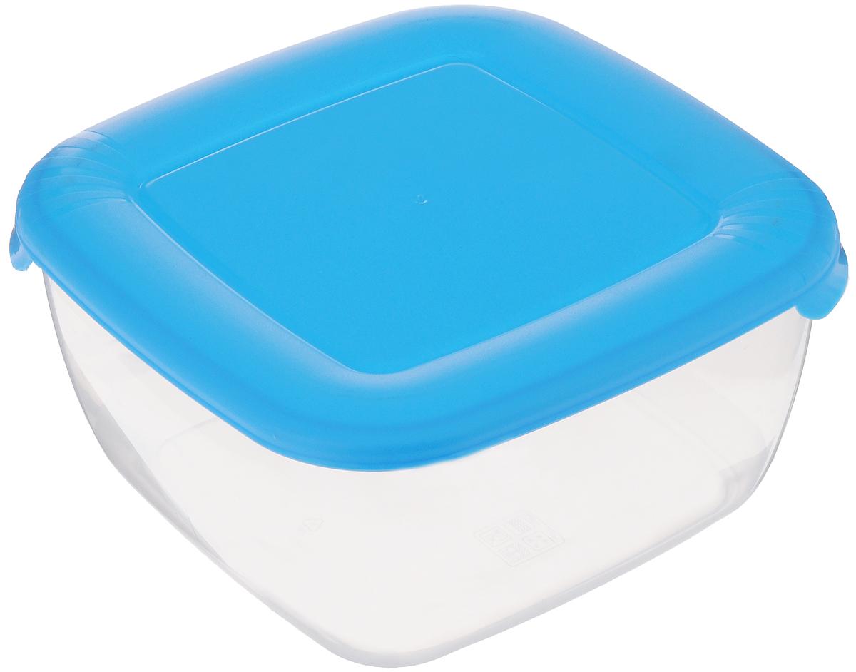 Контейнер для пищевых продуктов Полимербыт Лайт, цвет: голубой, прозрачный, 2,5 лС544_прозрачный, голубой матовыйКонтейнер Полимербыт Лайт квадратной формы, изготовленный из прочного полипропилена, предназначен специально для хранения пищевых продуктов. Крышка легко открывается и плотно закрывается.Контейнер устойчив к воздействию масел и жиров, легко моется. Прозрачные стенки позволяют видеть содержимое. Контейнер имеет возможность хранения продуктов глубокой заморозки, обладает высокой прочностью. Можно мыть в посудомоечной машине. Подходит для использования в микроволновых печах.