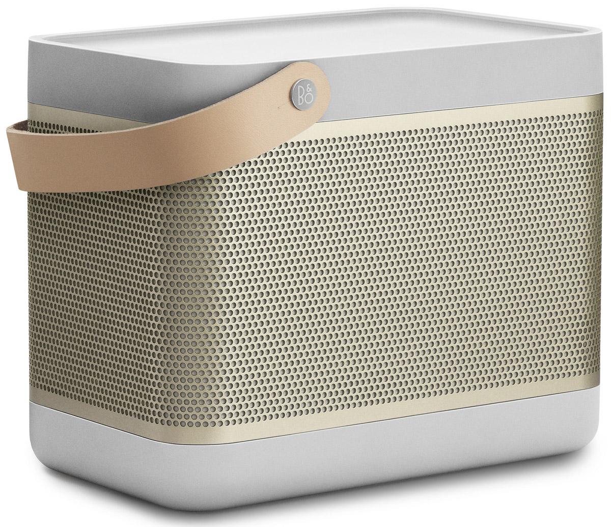 Bang & Olufsen Beolit 15, Champagne портативная акустическая система1287632Bang & Olufsen Beolit 15 - это современная компактная аудиосистема c безупречным дизайном в лучших традициях B&O. Она сочетает в себе максимальную производительность, надежность и функциональность.Инновационная технология передачи звука True360 позволяет использовать её дома в офисе и даже на открытом воздухе, звука будет достаточно благодаря 240 ваттам пиковой мощности. Емкий аккумулятор на 18 Вт/ч позволит слушать музыку на протяжении 24 часов без подзарядки.Быстрое беспроводное подключение Bluetooth 4.0 гарантирует высокое качество передачи потокового аудио. Bang & Olufsen Beolit 15 запоминает до 8 пользователей и может быть подключена к 2-м устройствам одновременно, тем самым на вечеринке вы сможете устроить ди-джей баттл с друзьями. Так же имеется USB-порт, который можно использовать для зарядки мобильных устройств.Мощность усилителей: 2 x 35 ВтЕмкость аккумулятора: 2200 мАч