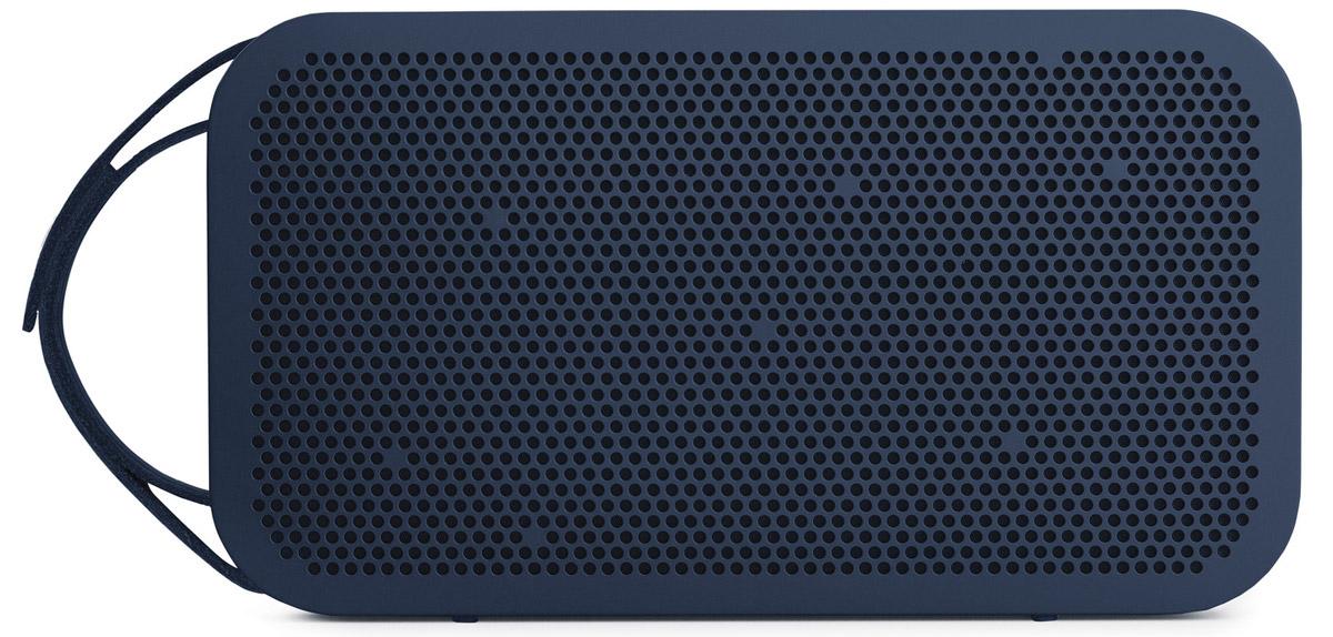 Bang & Olufsen BeoPlay A2, Ocean Blue портативная акустическая система1290980Bang & Olufsen BeoPlay A2 - мощная портативная акустическая Bluetooth-система, созданная для мобильности и обеспечивающая всенаправленный звук True360. Благодаря новаторской технологии устройство работает беспрецедентные 24 часа от батареи. Данная модель выполнена в прочном алюминиевом корпусе для акустической стабильности. Фирменный звук Bang & Olufsen Signature Sound обеспечивает достоверное воспроизведение музыки именно так, как хотел передать ее исполнитель.Мощность усилителей: 2 x 30 ВтЕмкость аккумулятора: 2200 мАч