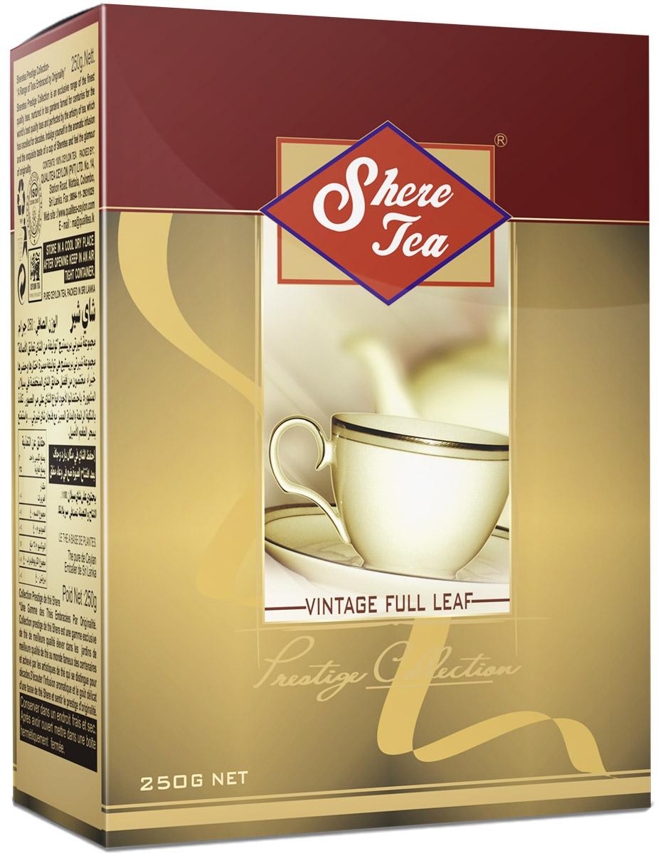 Shere Tea Престижная коллекция. OP1 чай черный листовой, 250 г4791014001195Shere Tea Prestige Collection - это эксклюзивные сорта лучшего 100% цейлонского чая, выращенного в гористой местности на золотых плантациях, знаменитых более столетия. Вы получите наслаждение от аромата и особенного вкуса в каждой чашке чая Шери и прикоснетесь к очарованию его новизны.Листья для этого чая собирают с кустов после того, как почки полностью раскрываются. Для этого сорта собирают первый и второй лист с ветки. В сухой заварке листья должны быть крупными (от 8 до 15 мм), однородными, хорошо скрученными. Этот сорт практически не содержит типсов. Чай имеет достаточно высокое содержание ароматических масел, и поэтому его настой очень ароматен. Также этот чай характерен вкусом с горчинкой благодаря большому содержанию дубильных веществ. Кофеина в этом чае намного меньше, так как в нем используют более взрослые листы, в которых содержание кофеина меньше, чем в типсах и молодых листах.В конце аббревиатуры стандарта можно увидеть цифру 1. Эта цифра обозначает более высокое качество, чем среднее, более высокое содержание типсов, самые отборные листья, очень ровную и особенно аккуратную скрутку листьев. Чай имеет яркий, прозрачный, интенсивный, настой. Вкус полный, терпкий, слегка вяжущий. Аромат чая полный, приятный, выражен достаточно ярко.