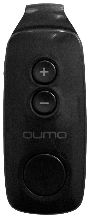 Qumo Fit 4GB, Black MP3-плеер mp3 плеер samsung yp cp3