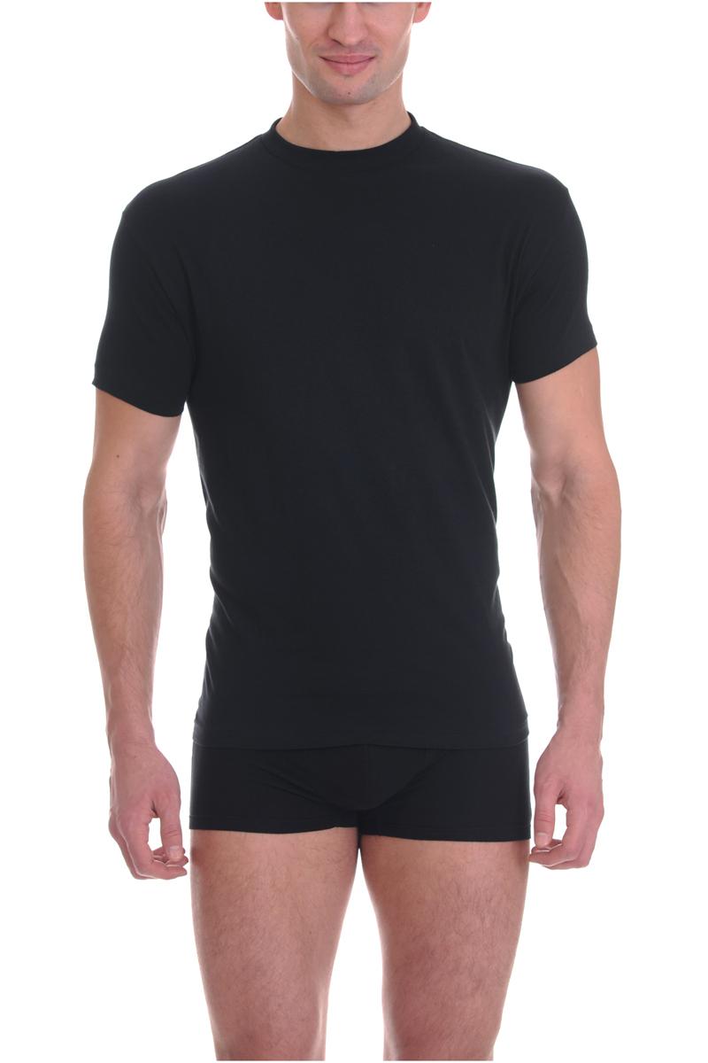 Футболка мужская Torro, цвет: черный. TMF101B. Размер L (50)TMF101B/CСтильная мужская футболка Torro, выполненная из высококачественного натурального хлопка, обладает высокой воздухопроницаемостью и гигроскопичностью, позволяет коже дышать. Такая футболка великолепно подойдет как для повседневной носки, так и для спортивных занятий. Модель с короткими рукавами и круглым вырезом горловины - идеальный вариант для создания модного современного образа. Однотонная футболка будет превосходно сочетаться с джинсами, брюками и шортами. Такая модель подарит вам комфорт в течение всего дня и послужит замечательным дополнением к вашему гардеробу.