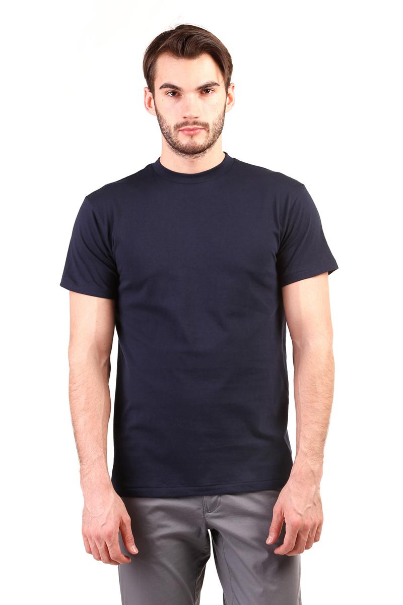 Футболка мужская Torro, цвет: темно-синий. TMF101B. Размер XL (52)TMF101BСтильная мужская футболка Torro, выполненная из высококачественного натурального хлопка, обладает высокой воздухопроницаемостью и гигроскопичностью, позволяет коже дышать. Такая футболка великолепно подойдет как для повседневной носки, так и для спортивных занятий. Модель с короткими рукавами и круглым вырезом горловины - идеальный вариант для создания модного современного образа. Однотонная футболка будет превосходно сочетаться с джинсами, брюками и шортами. Такая модель подарит вам комфорт в течение всего дня и послужит замечательным дополнением к вашему гардеробу.